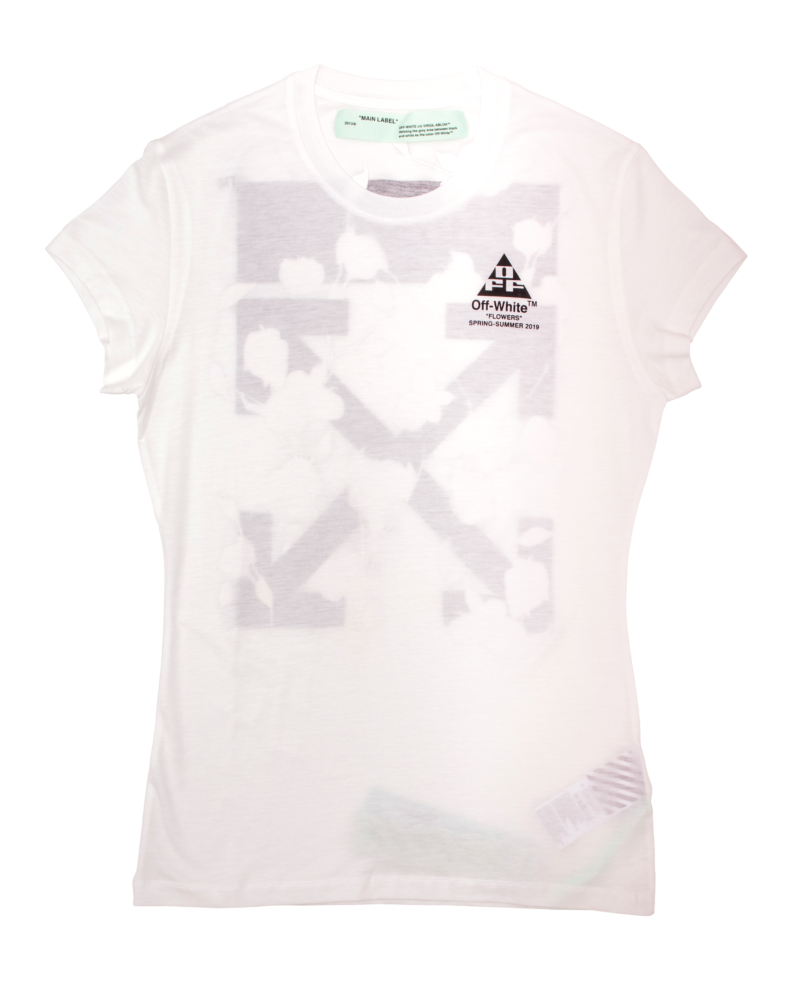Tricou OFF-WHITE Floral Logo