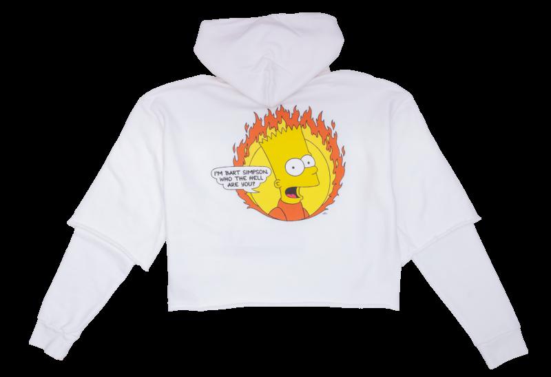 Hanorac OFF-WHITE Flamed Bart